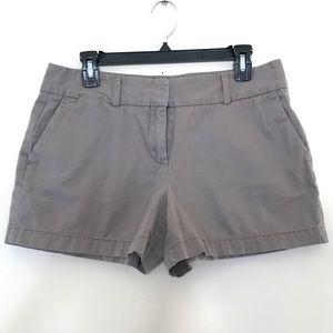 LOFT light brown shorts